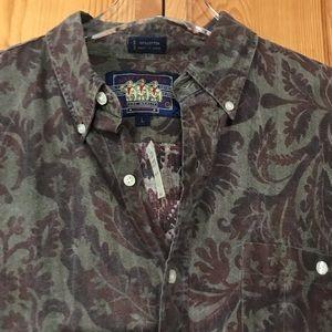VTG Ralph Lauren Chaps Boy Scout Long Sleeve Shirt
